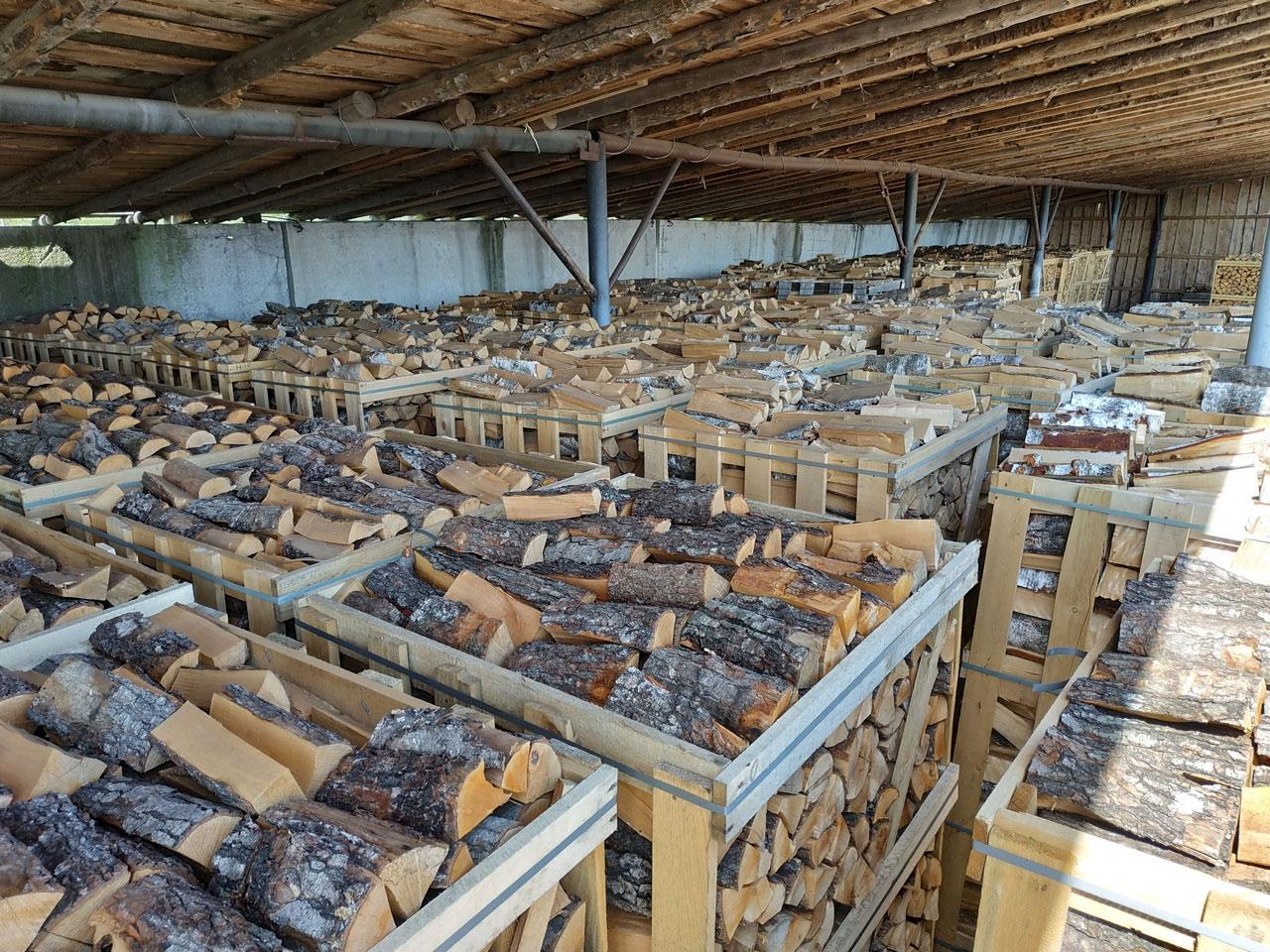 Дрова колотые из ольхи технической сушки