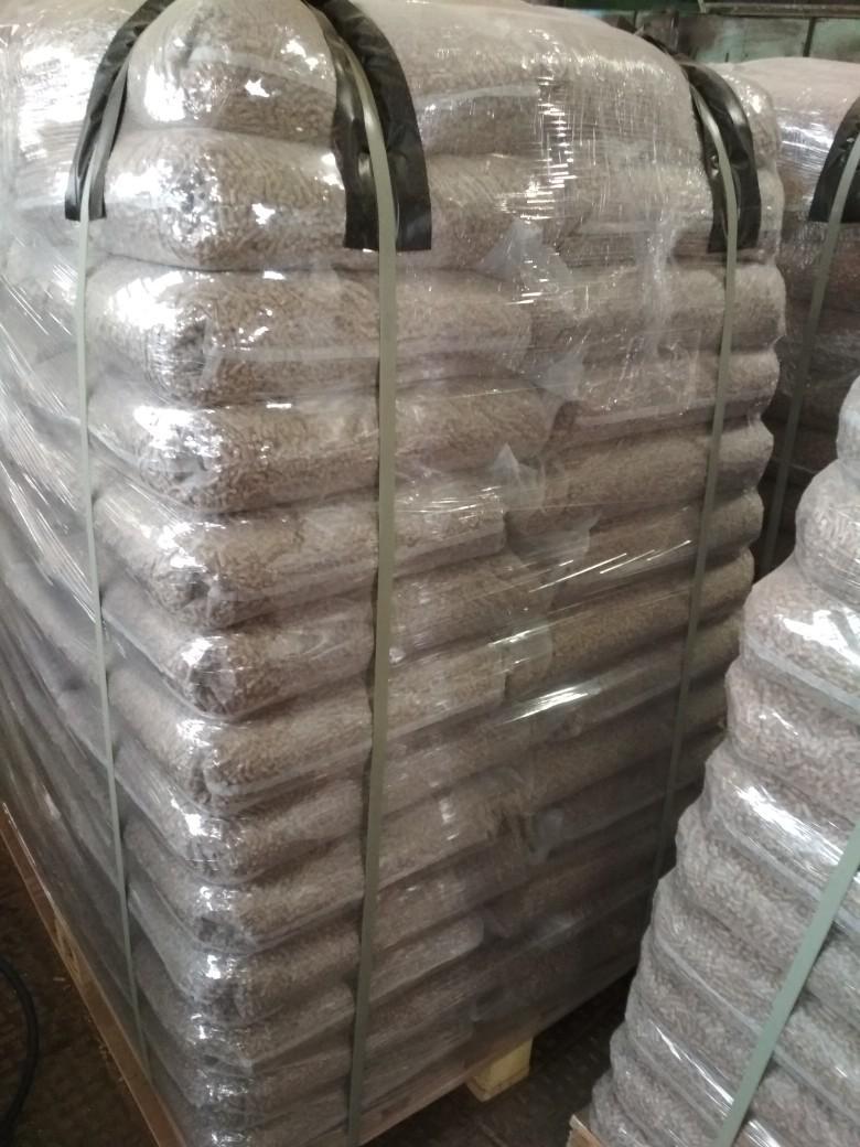 Пеллеты EN+А1 в пакетах по 15кг